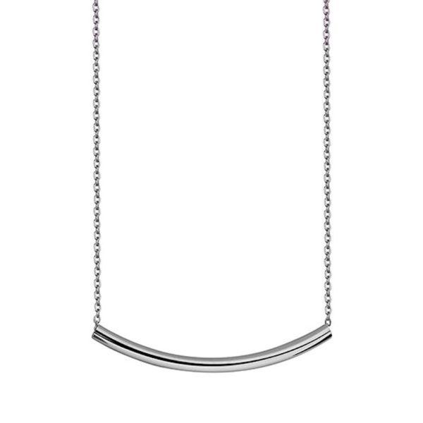 Collar Tubo Plata