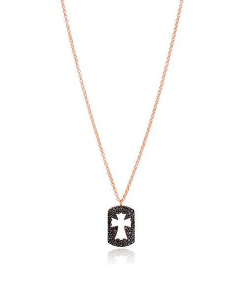 Colgante Black Cross