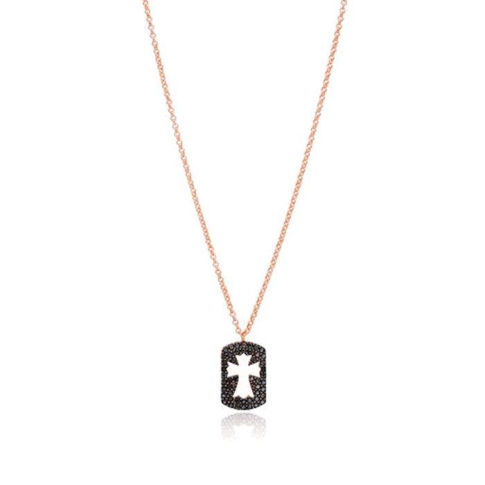 Colgante Black Cross