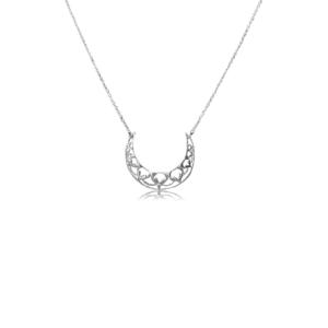 Collar Luna Mandala Plata